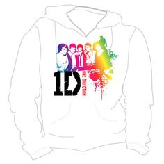 One Direction Rainbow Official Hoodie #google #onedirection