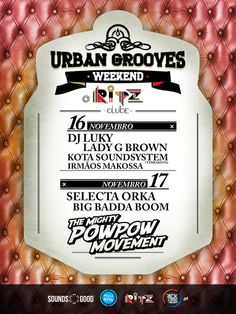 RITZ Clube - Urban Grooves