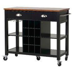 homestar extra wide kitchen island cart target thresholda mobile