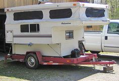 truck campers | ... tie down system is secure to the frame of the Camper and the trailer