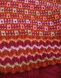 Mosaic knitting by Barbara Gregory