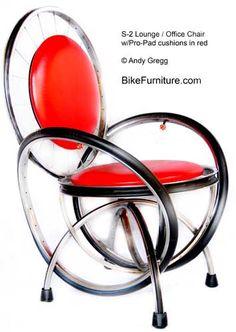 Bike Parts chair