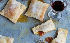 These little pastry squares were how Antonio Carluccio's mother used to use up her vast quantities of jam