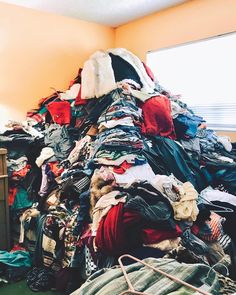We embraced the @konmari.co method and the Spark Joy philosophy has changed the way we view not only our home and possessions but also our… Konmari Method, Marie Kondo, Tidy Up, Less Is More, No Way, Philosophy, Joy, Change, Clothes