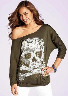 lace skull top (a favourite gothic punk clothes repin of VIP Fashion Australia )