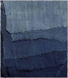 Colour by Numbers inspiration: denim dreaming with ombre tones of indigo.