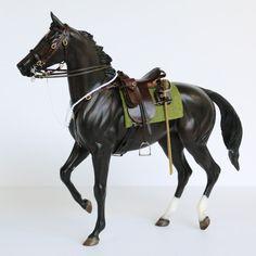 Rachel Fail Model Horse Tack: Australian Light Horse Set - Part 1 Horse Stables, Horse Farms, Horse Horse, Horse Training Tips, Horse Tips, Western Horse Tack, Western Saddles, Bryer Horses, Horse Accessories