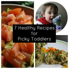7 Healthy Toddler Meals + 4 Tips for Your Little Picky Eater via glueandglitter.com