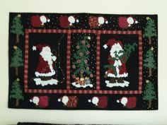 is it Christmas yet??? - our walls are covered in wall hanging come christmas