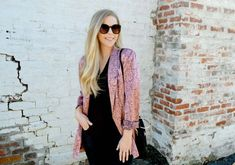 Fash Boulevard: 9 Must-Have Blazers - All Black Outfit With Silk Blazer