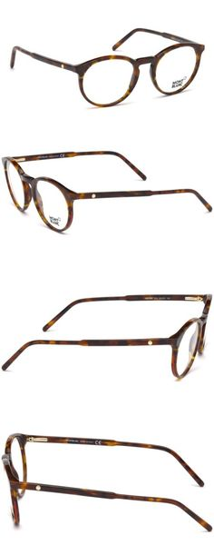 040b1ee23 Fashion Eyewear Clear Glasses 179240: New Mont Blanc Mb0554 Eyeglasses In  Dark Havana (052) Size: 49 20 145 -> BUY IT NOW ONLY: $199.99 on eBay!