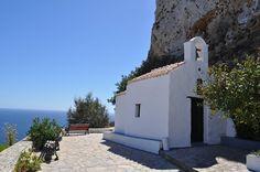 The Medieval Castle in Skyros Greece