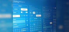Mobile UI Blueprint | Designer Mill