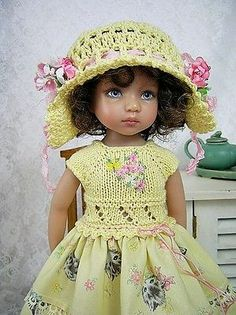 """Handmade Outfit for Dianna Effner Little Darling 13"""" Made by Ulla 