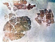 """4. Balaam bar Beor Inscription - Re: The Biblical account of Balaam was found at Tell Deir Alla in Jordan, in a muti-chambered structure, destroyed by an earthquake. In one of the hidden chambers a fragment of plaster was found with an inscription on it relating to Balaam. One inscription read, """"Warnings given by Balaam, the son of Beor. A seer of the gods."""" The Significance: It was recorded by the Amorites, the Enemies, not written by the Bible writers or by the Israelites."""