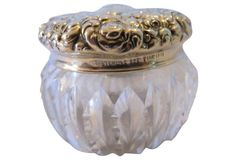 Repousse Sterling Rouge Pot