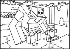 Minecraft Spongebob Coloring Pages . Minecraft Spongebob Coloring Pages . Colossal Minecraft Coloring Pages Steve Sup Unknown