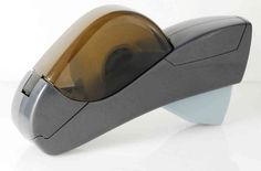 Dispense tape quickly with this automatic tape dispenser from Princess International! This handheld tape dispenser is safe, quick, and easy to use.