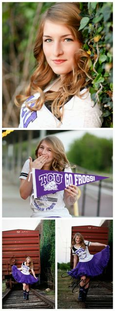 Senior picture ideas for girls, what to wear, posing, TCU, North Texas Dallas photographer