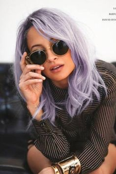 16 Gorgeous Examples of the Lavender Hair Color Trend ...