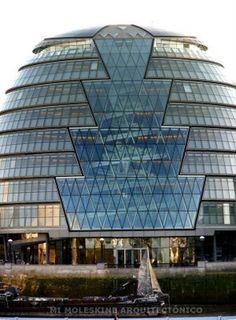 NORMAN FOSTER: 3 OBRAS EN LONDRES