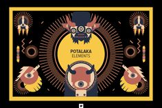 Vectors - Potalaka Characters by Jackkrit Anantakul available at YouWorkForThem.