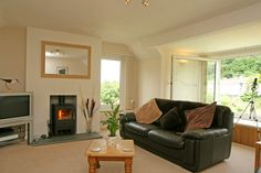 Set well back from the cove but still with views of the sea, Chy Kembro is very special. Oozing comfort and style the presentation of the interior is fashionably sleek and contemporary.  From £446 per week. http://www.cornishcottageholidays.co.uk/html/property_detail.php?pid=393