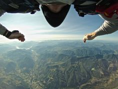 Matt Fowler skydives over the French Alps at dawn. Get this unique angle with the GoPro Chest Mount Harness: http://gopro.com/camera-mounts/chest-mount-harness