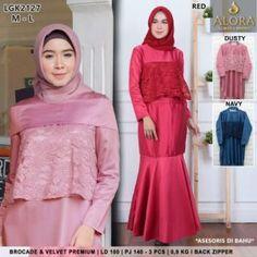Pusat Grosir Baju Wanita | Baju Gamis Modern Batam, Jakarta, Hijab Fashion, Muslim, Dan, High Neck Dress, Surabaya, Model, Dresses