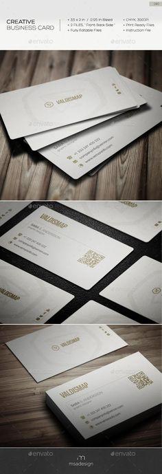 Creative Business Card 080  #template #creative #business