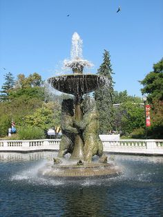 Horace H. Rackham Memorial Fountain at Detroit Zoo ~ Detroit, Michigan