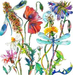 in so many words...: Saturday Salon: The plants and flowers of SOPHIA PERINA-MILLER