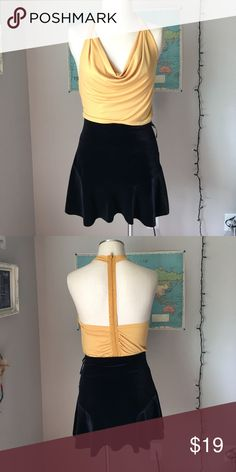 Yellow  Blouse with Back Details Yellow Blouse with Back Details. The skirt is for sale too. It's from urban outfitters. (29 as a bundle) Tops Blouses