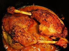 - recipe- Gänsekeulen – sanft geschmort… – Rezept Recipe: Goose legs – gently braised … Image No. Spicy Meatloaf Recipe, Meatloaf Recipes, Shellfish Recipes, Fatty Fish, Grilled Salmon, Smoothie Recipes, Asian Recipes, Food Inspiration, Stew