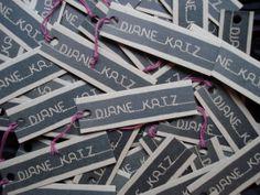 Diane Katz Designs hang-tags!