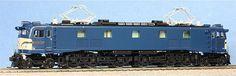 NEW 72022 EF58 blue cream warning color Jo-etsu Model P HO Scale Tenshodo 478 #tenshodo