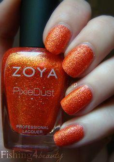 Fishing4Beauty: Zoya PixieDust Fall Edition --Dhara @Zoya Nail Polish #zoyapixiedust
