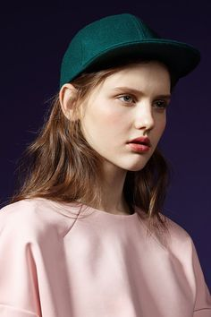 #style #cap #pink