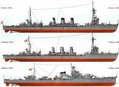 Naval History, Military History, Model Ship Building, Military Drawings, Imperial Japanese Navy, Ship Drawing, Nautical Art, Navy Ships, Submarines