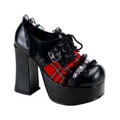 CHARADE-34 plaid shoes via Rivithead