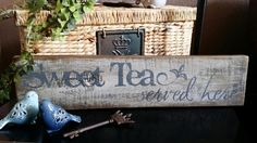 Hey, I found this really awesome Etsy listing at https://www.etsy.com/listing/231854707/rustic-reclaimed-wood-sweet-tea-served