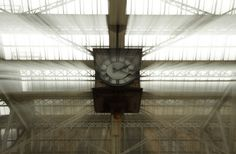 Glasgow Central Station - 18 Minutes Past Two by my friend Duncan