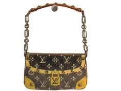 #LOUISVUITTON Pochette Accessoires Hand bag Trompe-loeil M92710 (BF106075): All of #eLADY's items are inspected carefully by expert authenticators who have years of experience. For more pre-owned luxury brand items, visit http://global.elady.com