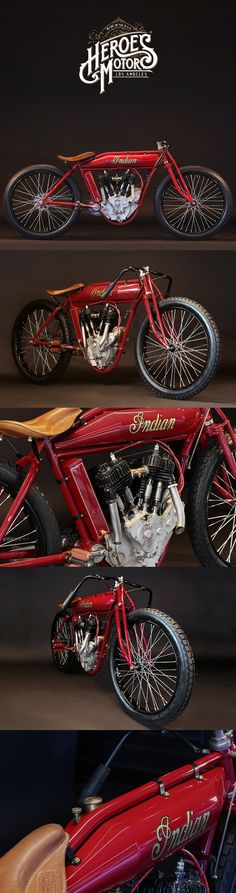 1912 INDIAN Powerplus board track racer | Photography by Serge Bueno