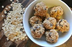 Homemade (#Easy!) Granola Bites (#lowFODMAPs, can be #GlutenFree)