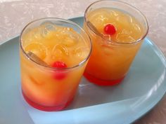 Tequila Sunrise my 2nd favorite drink!