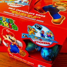 Super Mario Easter eggs.