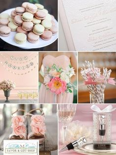 Rose Pink Wedding Decor Ideas