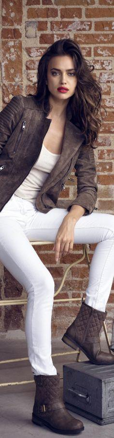 Model Behavior......Spotlight on IRINA SHAYK