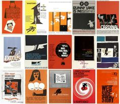 When I get my own place, it'll be full of Saul Bass posters. Man is a genius.
